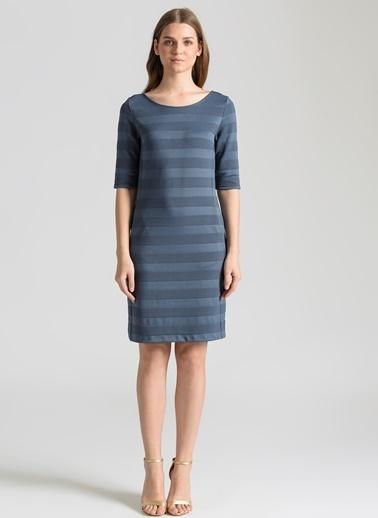 Ebru Günay Elbise Mavi